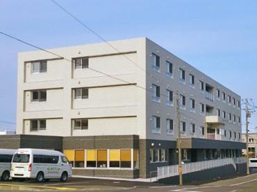 サービス付き高齢者向け住宅 シニアサポートホームみのり白石中央(北海道札幌市白石区)イメージ